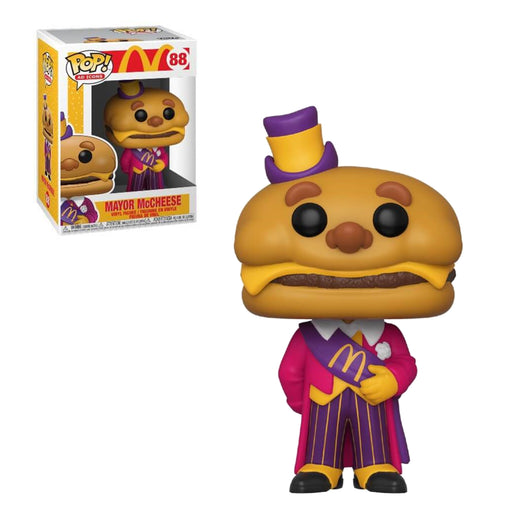 AD ICONS - McDONALD'S - MAYOR McCHEESE (PRE-ORDER)