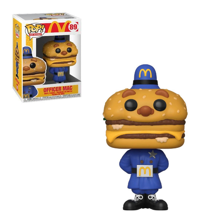 AD ICONS - McDONALD'S - OFFICER MAC (PRE-ORDER)