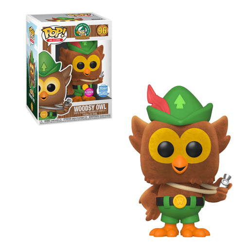 AD ICONS - WOODSY OWL (FLOCKED) (EXCLUSIVE)