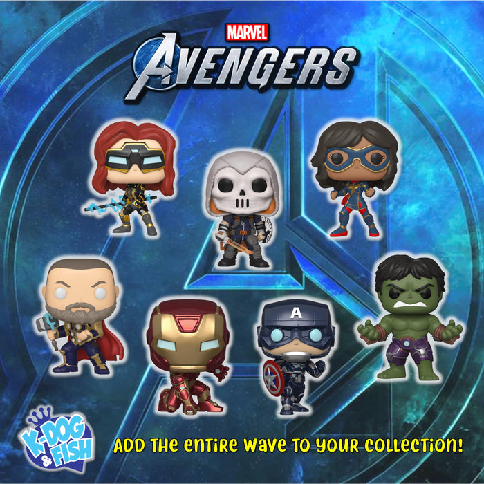 MARVEL: AVENGERS GAME - THE ENTIRE SET