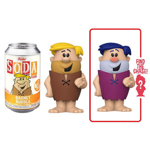 FUNKO SODA CAN: VINYL FIGURE - BARNEY RUBBLE (LIMITED 7,500)