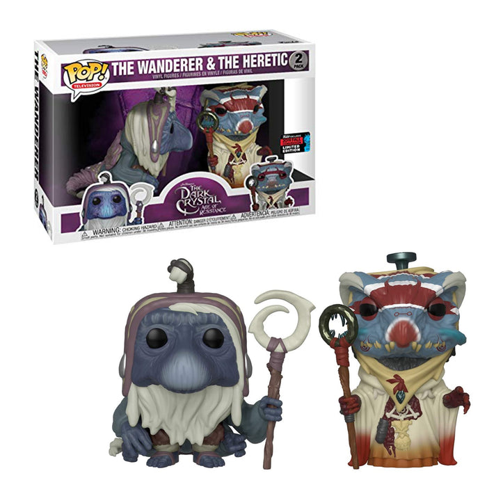 THE DARK CRYSTAL: AGE OF RESISTANCE - THE WANDERER & THE HERETIC (2-PACK) - EXCLUSIVE