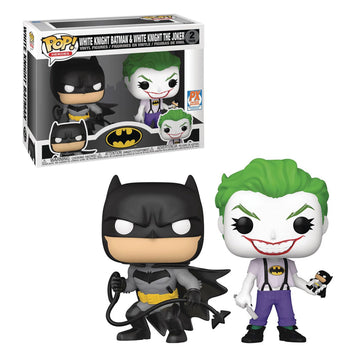 DC: WHITE KNIGHT BATMAN & WHITE KNIGHT THE JOKER - 2-PACK (EXCLUSIVE) (PRE-ORDER)