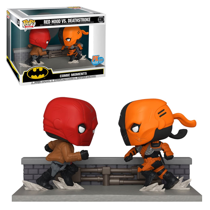 DC: BATMAN COMIC MOMENTS - RED HOOD VS. DEATHSTROKE (SDCC) (PRE-ORDER)