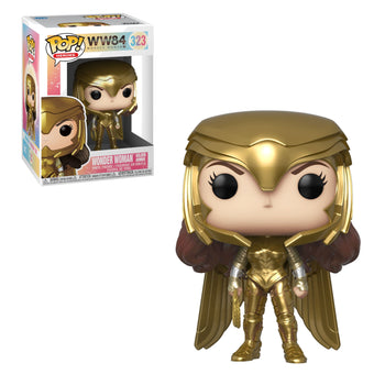DC - WONDER WOMAN 84 - WONDER WOMAN (GOLDEN ARMOUR)