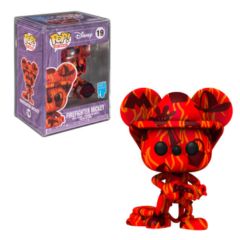 DISNEY - ART SERIES: FIREFIGHTER MICKEY (ARTIST SERIES) (EXCLUSIVE)
