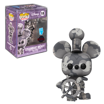 DISNEY - ART SERIES: STEAMBOAT WILLIE (ARTIST SERIES) (EXCLUSIVE)
