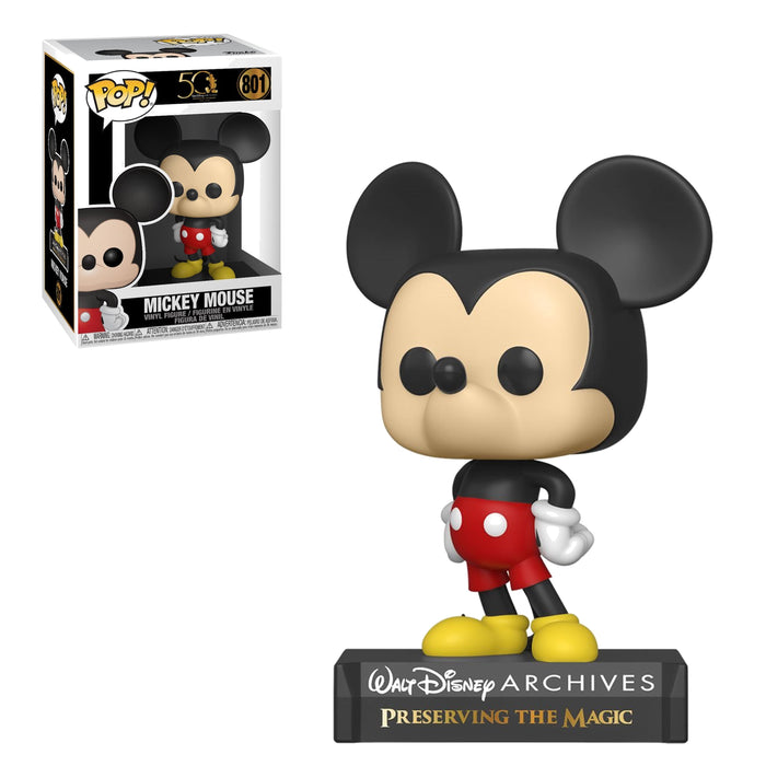 DISNEY: ARCHIVES 50TH ANNIVERSARY - MICKEY MOUSE (PRE-ORDER)