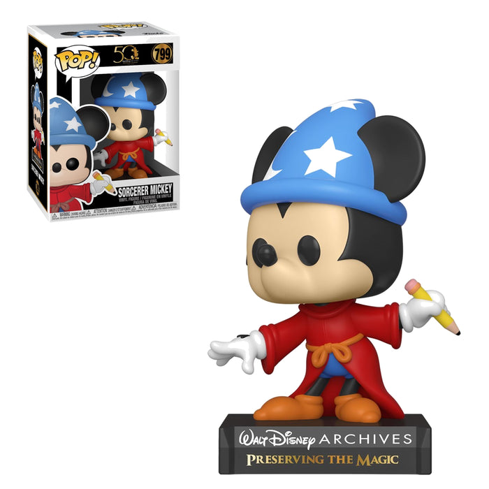 DISNEY: ARCHIVES 50TH ANNIVERSARY - SORCERER MICKEY (PRE-ORDER)
