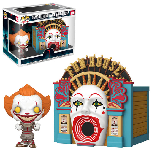 IT: CHAPTER TWO - DEMONIC PENNYWISE WITH FUNHOUSE (POP TOWN)