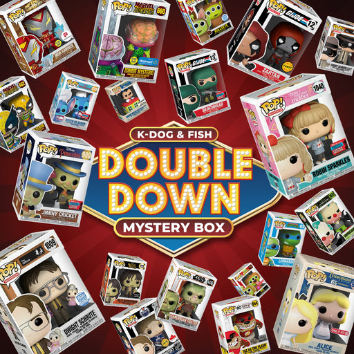 K-DOG & FISH: DOUBLE DOWN MYSTERY BOX (SOLD OUT)