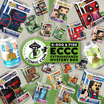 K-DOG & FISH: ECCC EXTRAVAGANZA - MYSTERY BOX (SOLD OUT)