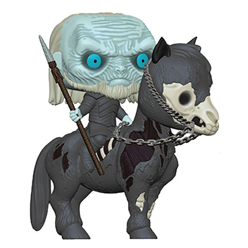 GAME OF THRONES - WHITE WALKER ON HORSE (POP RIDES)