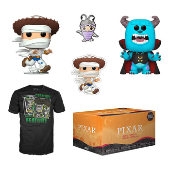 FUNKO POP! TEES - PIXAR HALLOWEEN COLLECTOR'S BOX (EXCLUSIVE)