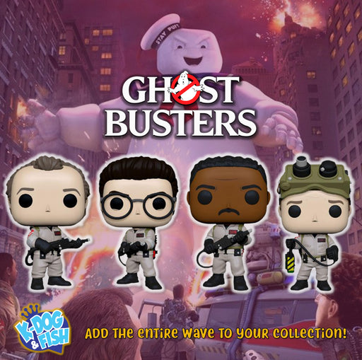 GHOSTBUSTERS - 35TH ANNIVERSARY SET
