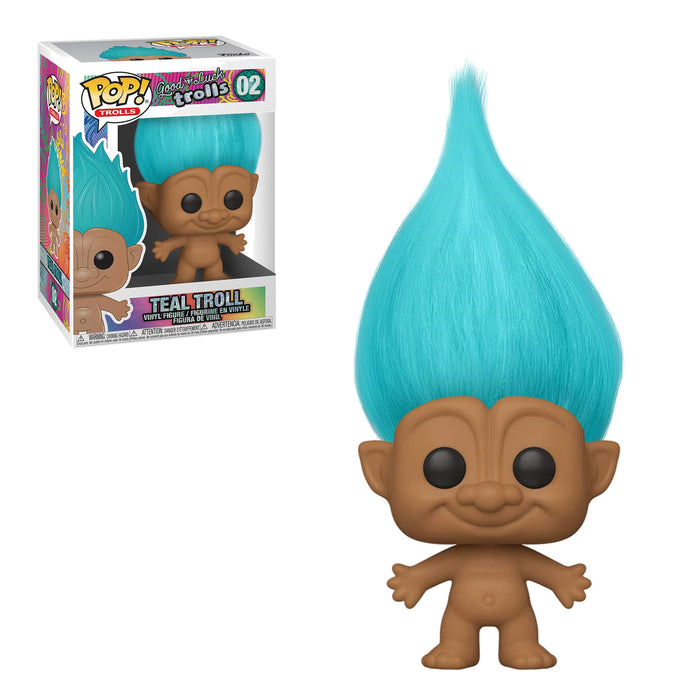 GOOD LUCK TROLLS - TEAL TROLL