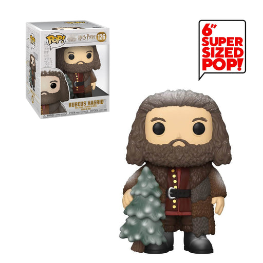 "HARRY POTTER HOLIDAY - HAGRID (WITH TREE) (6"")"