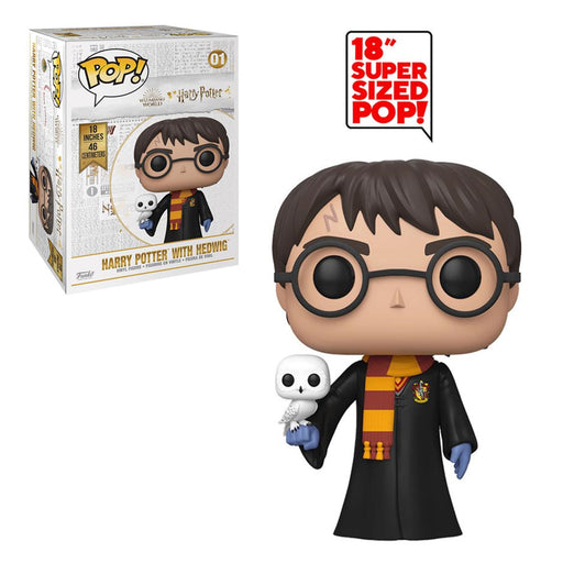 "HARRY POTTER - HARRY POTTER WITH HEDWIG (18"") (PRE-ORDER)"