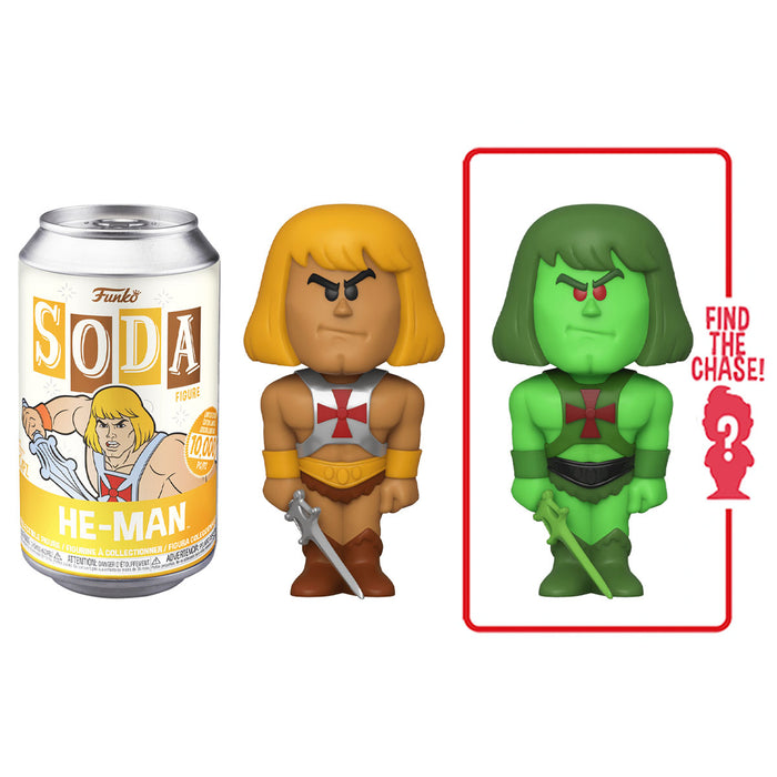 FUNKO SODA CAN: VINYL FIGURE - HE-MAN (LIMITED 10,000)