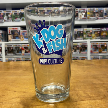 K-DOG AND FISH - PINT GLASS