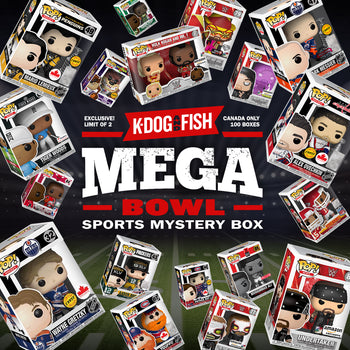 K-DOG & FISH: MEGA-BOWL SPORTS MYSTERY BOX (UPDATE: SOLD OUT)