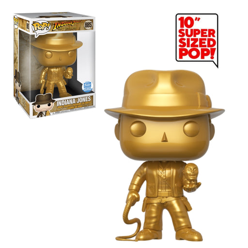 "INDIANA JONES ADVENTURE - INDIANA JONES (10"") (GOLD) (EXCLUSIVE)"