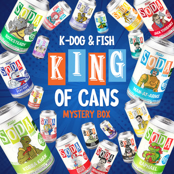 "K-DOG & FISH: ""KING OF CANS"" - MYSTERY BOX (UPDATE: SOLD OUT!)"