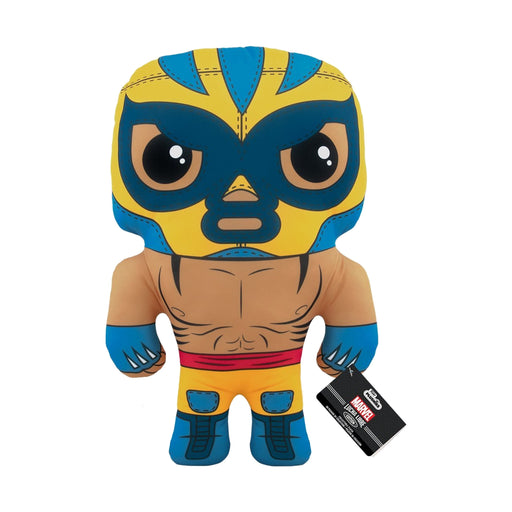 "17"" PLUSH - MARVEL - LUCHA LIBRE EDITION: EL ANIMAL INDESTRUCTIBLE (WOLVERINE)"