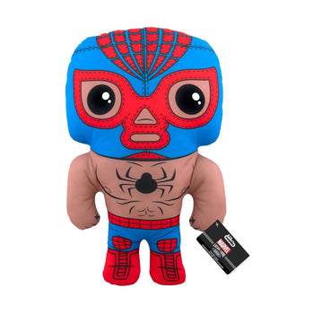 "17"" PLUSH - MARVEL - LUCHA LIBRE EDITION: EL ARACNO (SPIDER-MAN)"