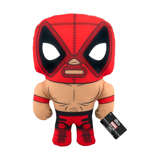 "17"" PLUSH - MARVEL - LUCHA LIBRE EDITION: EL CHIMCHANGA DE LA MUERTE (DEADPOOL)"