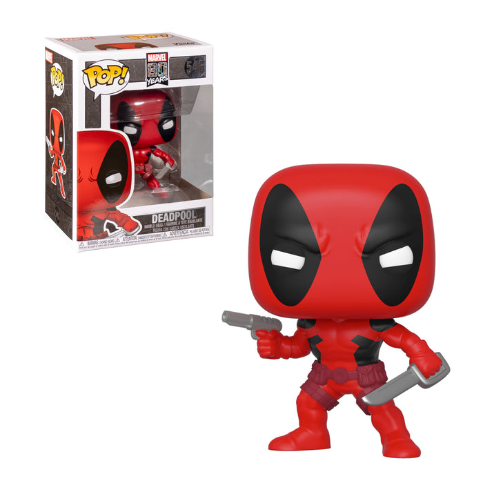 MARVEL - DEADPOOL: 1ST APPEARANCE (80TH ANNIVERSARY)