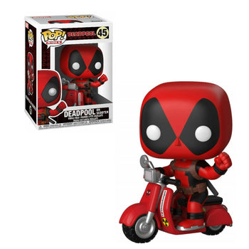 POP RIDES - MARVEL: DEADPOOL (ON SCOOTER)