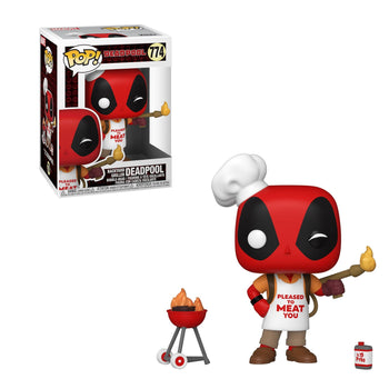 MARVEL - DEADPOOL: 30TH ANNIVERSARY - BACKYARD GRILLER DEADPOOL (PRE-ORDER)