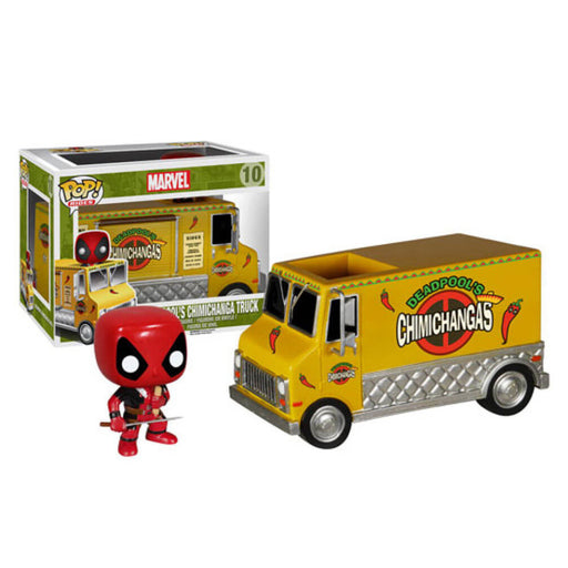 POP RIDES - MARVEL: DEADPOOL'S CHIMICHANGA TRUCK