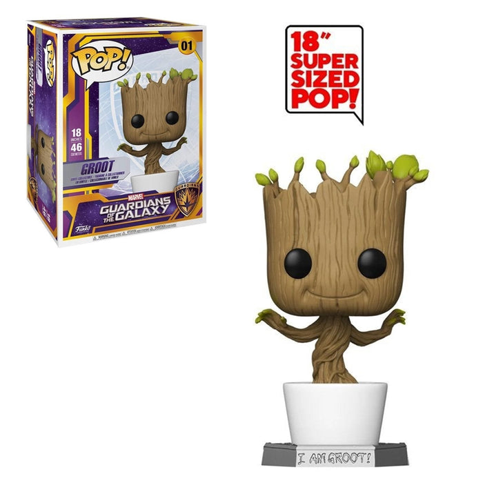 "MARVEL: GUARDIANS OF THE GALAXY - DANCING GROOT (18"")"