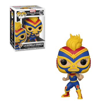 MARVEL - LUCHA LIBRE EDITION: LA ESTRELLA COSMICA (CAPTAIN MARVEL)