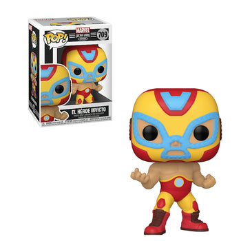 MARVEL - LUCHA LIBRE EDITION: EL HEROE INVICTO (IRON MAN)