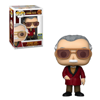 MARVEL: IRON MAN - STAN LEE CAMEO (SDCC SHARED EXCLUSIVE) (BOX IMPERFECTIONS)