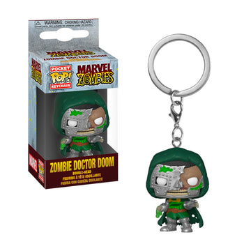 POCKET POP KEYCHAIN - MARVEL ZOMBIES: DR. DOOM