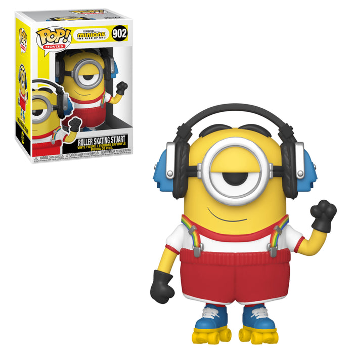 MINIONS THE RISE OF GRU - ROLLER SKATING STUART (PRE-ORDER)