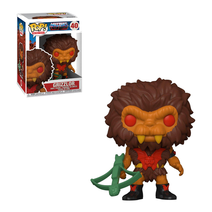 RETRO TOYS: MASTERS OF THE UNIVERSE - GRIZZLOR (PRE-ORDER)