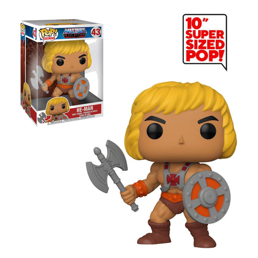 "RETRO TOYS: MASTERS OF THE UNIVERSE - HE-MAN (10"") (PRE-ORDER)"