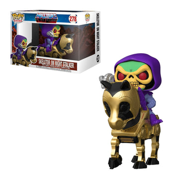 RETRO TOYS: MASTERS OF THE UNIVERSE - SKELETOR ON NIGHT STALKER (POP RIDES) (PRE-ORDER)