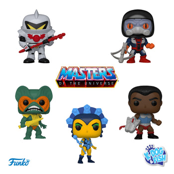 RETRO TOYS: MASTERS OF THE UNIVERSE - SET (PRE-ORDER)