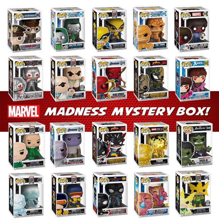 "K-DOG & FISH ""MARVEL MADNESS"" MYSTERY BOX! (SOLD OUT)"