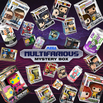 "K-DOG & FISH: MEGA ""MULTIFARIOUS"" MYSTERY BOX (UPDATE: SOLD OUT)"