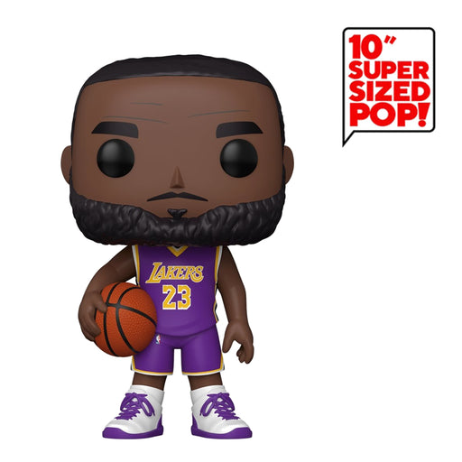 "NBA - LAKERS - LEBRON JAMES (10"")"