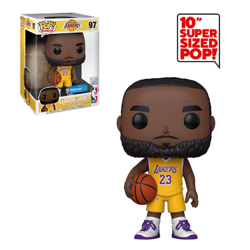 "NBA - LAKERS - LEBRON JAMES (10"") (EXCLUSIVE)"