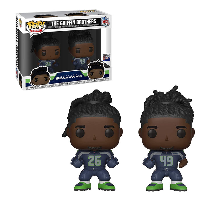 NFL - SEATTLE SEAHAWKS: THE GRIFFIN BROTHERS (2-PACK)