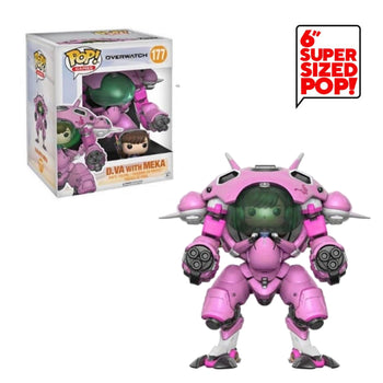 "OVERWATCH - D.VA WITH MEKA (6"")"